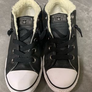 Converse Kids Leather Shoes
